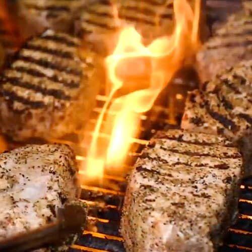 Chef Kent Rathbun - Curbside BBQ - Pork Loin