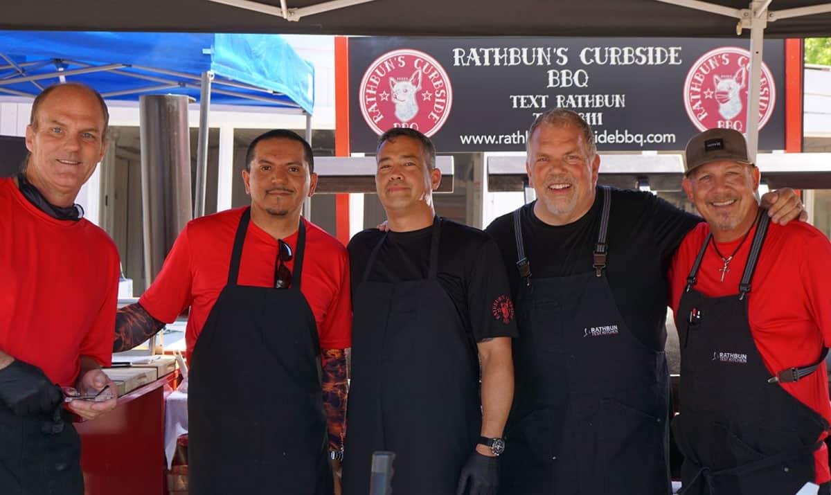 The Rathbun Curbside BBQ Team